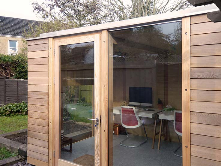 Garden office, Bath – 2-bay Modular