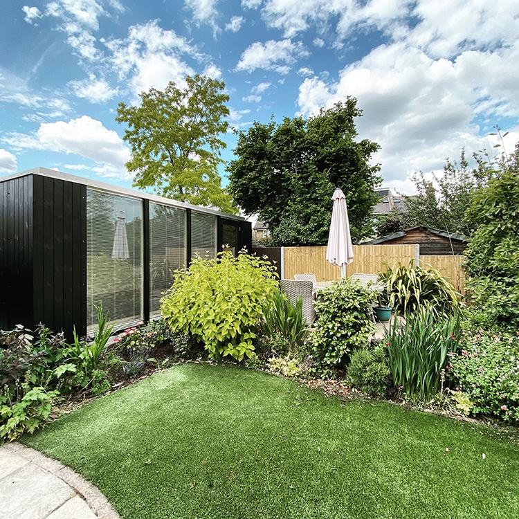 4-Bay Modular Garden Room, South West London