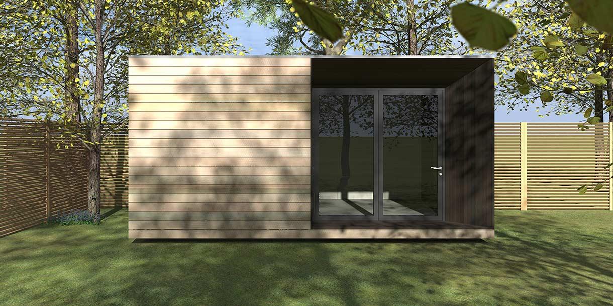 Aspect Garden Room CGI