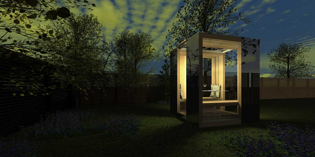 Bespoke Garden Room CGI