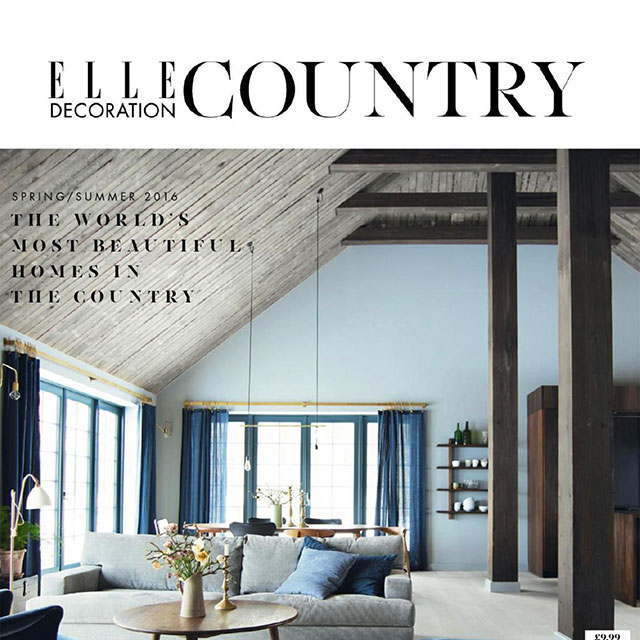 Elle Decoration Country cover Spring/Summer 2016
