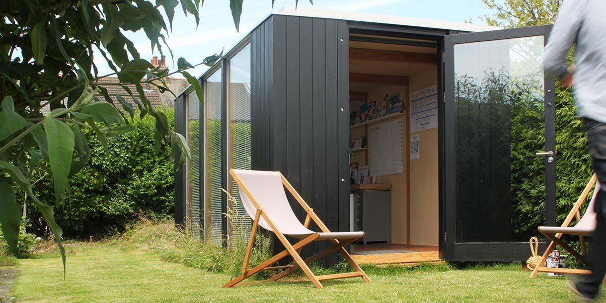 Modular garden room 3rdspace modular garden rooms and for Prefabricated garden rooms