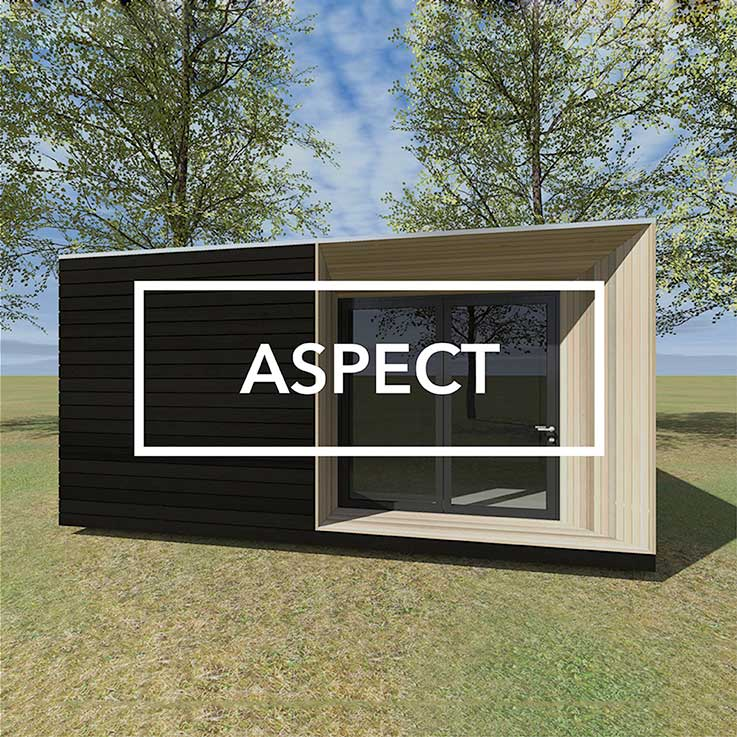 Aspect garden room cgi