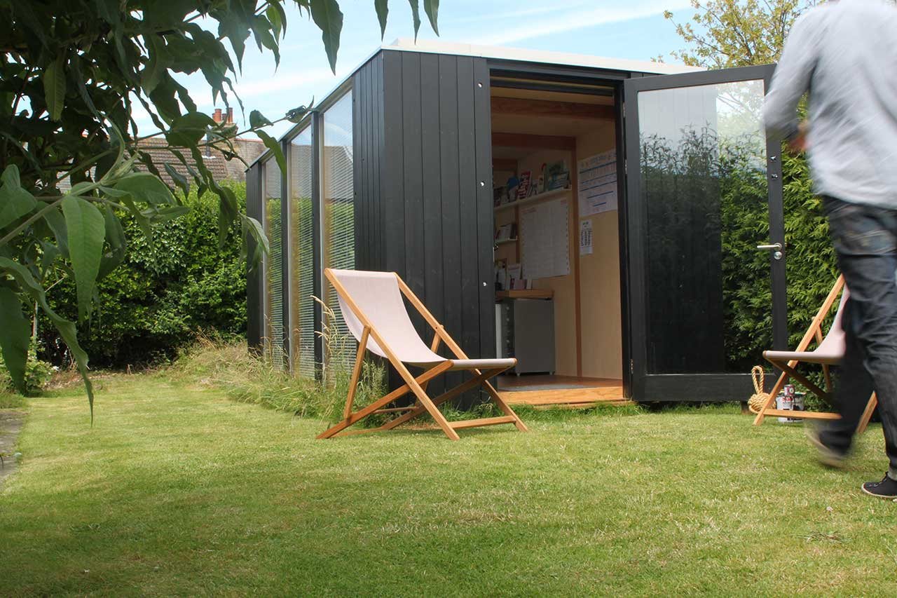 Graphic design studio 3rdspace modular garden rooms for Modular garden rooms
