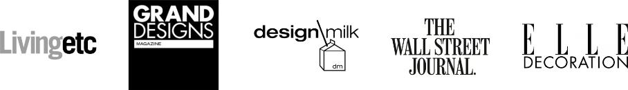 As featured in Livingetc, Grand Designs Magazine, Design Milk, Elle Decoration
