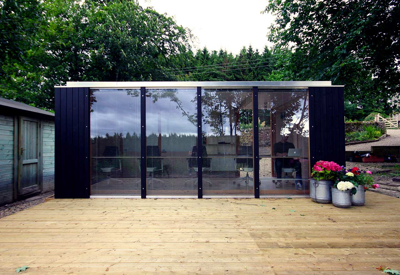 Modular Garden Office, Northumberland